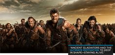 Bodybuilding.com - Spartacus Strong: How The Cast Of Spartacus Got In Gladiator Shape