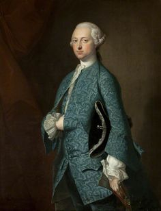 Sir Henry Oxenden (1721–1804), Thomas Hudson, c. 1755. Towneley Hall Art Gallery & Museum