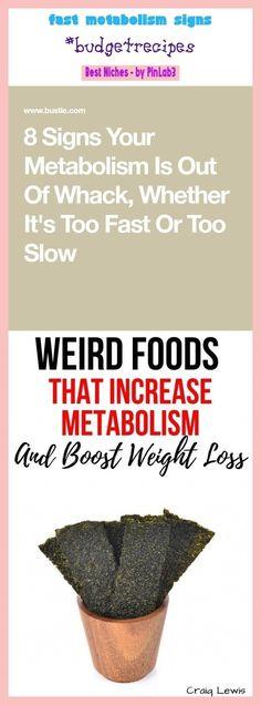 Metabolismo de arranque rápido superior a 50