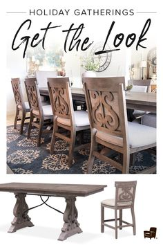 Rustic and grand, the Charthouse dining room set magnificently sets a welcoming tone in your space with its […] Plywood Furniture, Dining Room Furniture, Dining Rooms, Room Chairs, Kitchen Dining, Kitchen Decor, Small Dining Area, Dining Lighting, Lounge