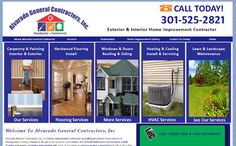 Local home improvement business located in Gaithersburg, MD.  http://www.alvaradogeneralcontractor.com/