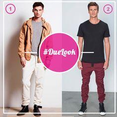 #DueLook ¿Usarías el pantalón blanco? ¿y el bordó?  ¡Animate con estas prendas y rompé con la rutinaria ropa clásica!