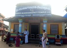 That's the Maha-Ganapati temple which is very near to the Mahabaleshwar temple in Gokarna