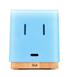 Hi, folks! My name is Teye. I'm the first communication device that shows emotions. Learn more and look what I can do!