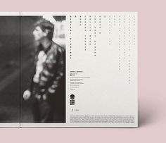 General Midnight / Gatefold LP Sleeve by Cedric Janssen, via Behance