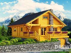 Mazurek IX z dobudówką - Domki ogrodowe - DREWNEX Home Fashion, Cabin, House Styles, Home Decor, Rustic Homes, House, Decoration Home, Room Decor, Cabins