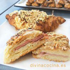Croissants gratinados - Divina CocinaRecetas fáciles, cocina andaluza y del mundo. » Divina Cocina