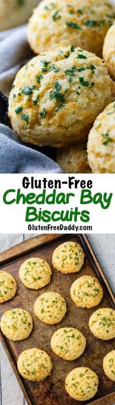 These gluten-free Cheddar Bay biscuits taste just like Red Lobster's - but they are gluten-free. I'm addicted to these!