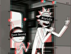worlds fuck :II Rick I Morty, Ricky And Morty, Rick And Morty Poster, Supreme Wallpaper, Trippy Wallpaper, Dope Wallpapers, Hypebeast Wallpaper, Cartoon Sketches, Wallpaper Iphone Disney