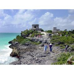 Mayan Ruins of Tulum found on Polyvore