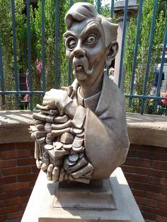 """new Haunted Mansion Interactive Queue at Magic Kingdom in Walt Disney World - photo by """"ScareHouse Scott"""" - http://www.scarehouse.com"""
