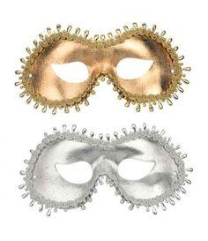 Μάσκα Ματιών Με Πέρλες σε 2 χρώματα
