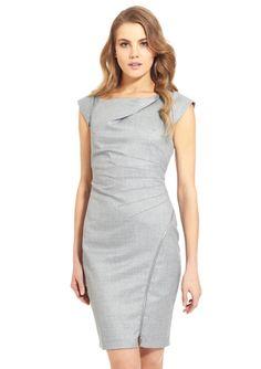 LAUNDRY BY SHELLI SEGAL Short Sleeve Shift Dress
