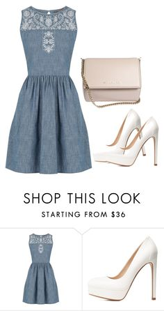 """Untitled #976"" by maria-canas ❤ liked on Polyvore featuring Oasis, Charlotte Russe and Givenchy"
