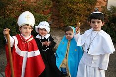All Saints' Day Costumes