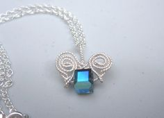 Montana Blue Cube Swarovski Crystal Silver by KiCrystalCreations, $28.00 Different Colors, Montana, Sterling Silver Jewelry, Cube, Swarovski Crystals, Pendant Necklace, Chain, Earrings, Ear Rings
