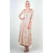 Nataya 40163 Downton Abbey Tea Party Gown Pearl