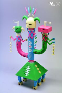 Navajo Cactus on Toy Design Served