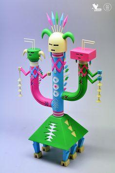 Navajo Cactus on Toy Design Served