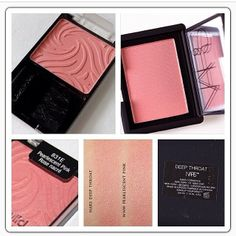 Nars Deep Throat dupes WNW Pearlescent Pink