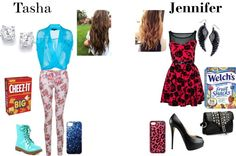 """T and J"" by shaniachildress ❤ liked on Polyvore"