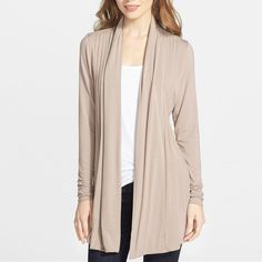 f10fe156b87 Open Pleat Front Cardigan Dantelle Cardigans Sporty Outfits