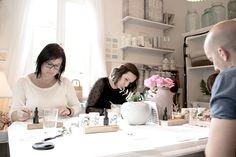 Words of beauty. A calligraphy workshop with Jeanette Mokosch in Villa Lotta