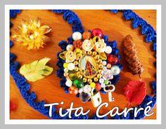 Tita Carré  Agulha e Tricot : Relicário de Nossa Senhora Aparecida