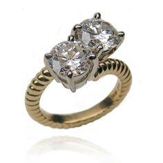 Custom - Diamond Ring by 18Karat    www.jewelrybynorman.com  Best place to sell jewelry in orange county