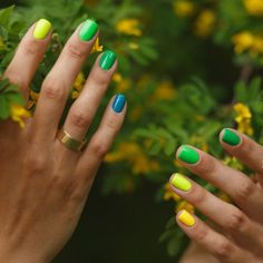 Summer nail colors are usually bright and terrific. No wonder that many women love summer nail polishes. Check out this hot collection for summer. Summer Nail Polish, Summer Gel Nails, Nail Polish Art, Nail Polish Trends, Winter Nails, Spring Nails, Summer Pedicures, Red Nail Designs, Winter Nail Designs
