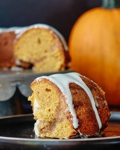 Make a Pumpkin Coffee Cake with a delicious cream cheese icing drizzle for a scrumptious sweet fall treat that everyone will love. It's perfect as a treat with your coffee or tea or as a dessert, or really any time you crave this tasty dessert.   This is a treat that the whole family can enjoy and it's great for dessert, or to enjoy with a cup of java or tea. Enjoy it during this cold weather season.