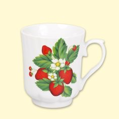 "SHOP-PARADISE.COM:  Tasse ""Erdbeere"" 0,25 L, 6 St. 10,71 €"