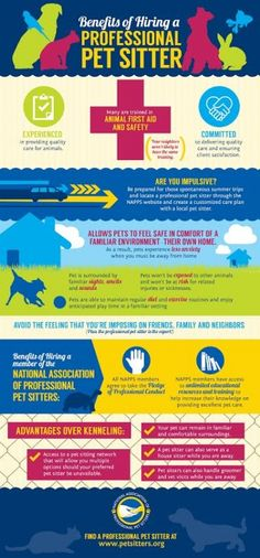 #NAPPS benefits of hiring a professional #petsitter @The National Association of Professional Pet Sitters Pet