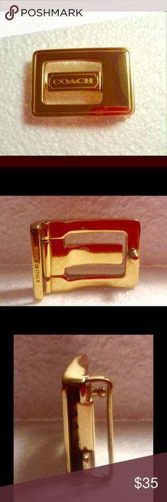 Coach belt buckle Authentic coach belt buckle Coach Other