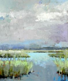 Buy Original Art by Mary Pratt | oil painting | Soft Marsh at UGallery