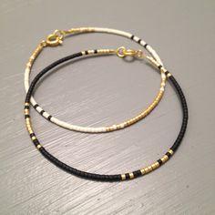 Dainty gold bracelet Elegant Slim Bracelet Dainty by ToccoDiLustro