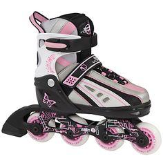 Buy Stateside Skates Vortex Inline Skates, Pink/Grey/Black online at JohnLewis.com - John Lewis