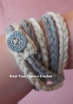 Super-Easy-Crochet-chain-bracelet
