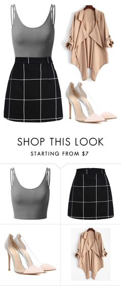 """Untitled #2400"" by mikaelaryan ❤ liked on Polyvore featuring Doublju and Gianvito Rossi"