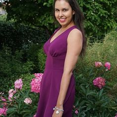 Bianca's sleeveless 1940's Tea Dress 1940s Tea Dress, Dress Sewing, Vintage Inspired, Sewing Patterns, Wrap Dress, Long Hair Styles, Formal Dresses, Summer, Inspiration