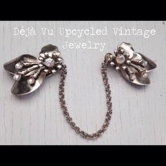 A personal favorite from my Etsy shop https://www.etsy.com/listing/247039408/repurposed-vintage-sweater-clip-flower