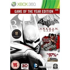 Batman Arkham City - Game Of The Year Xb...