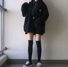 Adrette Outfits, Korean Outfits, Grunge Outfits, Cute Casual Outfits, Fashion Outfits, Egirl Fashion, Korean Girl Fashion, Winter Fashion, Queer Fashion