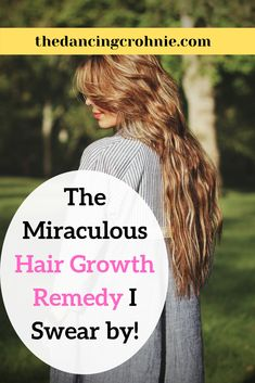 The Miraculous Hair Growth Remedy I Swear By! - the dancing crohnie - Losing your hair? Read to find out the best hair growth remedy! Make it at home and watch your hair grow, grow, grow! Hair Growth Shampoo, New Hair Growth, Vitamins For Hair Growth, Hair Growth Tips, Natural Hair Growth, Natural Hair Styles, Long Hair Styles, Make Hair Grow, Grow Long Hair