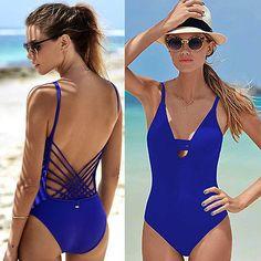 Deep Blue Ocean Swimsuit