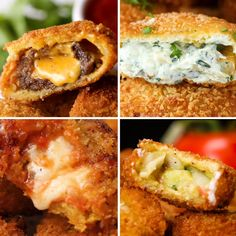 8 Onion Ring Recipes by Tasty 8 Zwiebelring-Rezepte von Tasty Tapas Recipes, Onion Recipes, Appetizer Recipes, Cooking Recipes, Cooking Bacon, Cooking Oil, Tasty Video, Guacamole, Recipes
