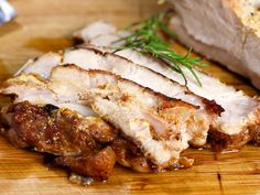 A pork loin is a beautiful piece of meat. But if you don't cook it properly, it ends up being tough, dry, and inedible. Treat it gently and try a few easy steps, and you will have a moist, delicious dinner and sandwiches the day after!...