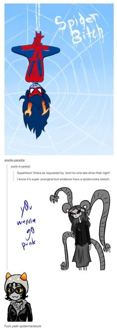 Spider8itch,Spider8itch na na na na na na na na!