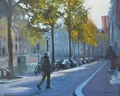 Amsterdam, Herengracht Monet, Impressionist, Amsterdam, Street View, Painting, Art, Photos, Craft Art, Painting Art