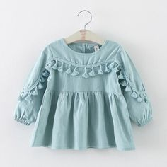 Cheap newborn dress, Buy Quality baby dress directly from China baby dresses girl Suppliers: new 2016 spring autumn tassel baby dresses girl clothes casual toddler girls party dress suit age newborn dress for girls Fashion Kids, Little Girl Fashion, Toddler Fashion, Fashion 2016, Fashion Images, Fashion Wear, Fashion Pants, Fashion Shoes, Dresses Kids Girl